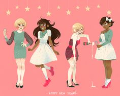 ladies of homestuck