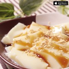 Soy milk tofu / pudding / blanc mache - Kurashiru