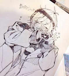 Chibi Manga, Manga Anime, Anime Guys, Anime Art, Anime Style, The Wolf Game, Drawing Sketches, Drawings, Estilo Anime
