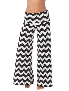 Swim 'n Sport Chevron Pallazo Pants