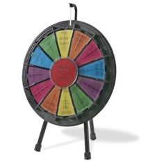 Reward your employees with this Mini Wheel of Fortune | PaperDirect #employee #recognition #ideas
