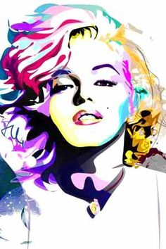 make pop art pictures with photos of class and sharpies. Marilyn M. Images Pop Art, Pop Art Pictures, Pop Art Marilyn Monroe, Marilyn Monroe Photos, Frida Art, Bild Tattoos, Norma Jeane, Portraits, Drawings