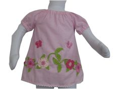 Tunika - Bluse mit Häckelgirlande von Me Kinderkleidung auf DaWanda.com Unisex, Baby, Link, Tops, Shell Tops, Newborn Babies, Infant, Baby Baby, Doll