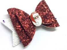 Check out this item in my Etsy shop https://www.etsy.com/uk/listing/558535752/christmas-hair-bow-red-hair-bow-santa
