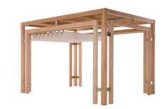 pergola moderna legno - Cerca con Google