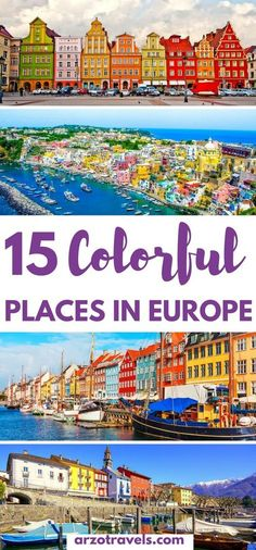 Europe is full of amazing colorful towns and cities, and here are the 15 best vivid places to visit in Europe.