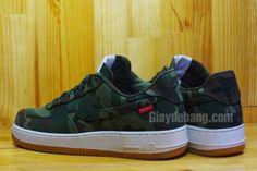cheap for discount 5809c b3d73 Nike Air Force 1 SUPREME camouflage armyStrong Air Force 1, Nike Air Force,