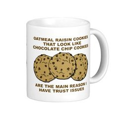 Cookie Trust Issues Funny Mug