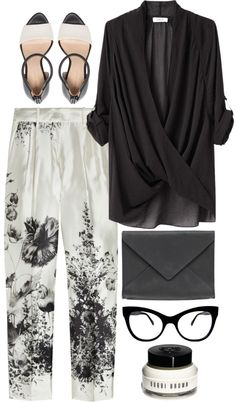"""white garden"" by rosiee22 ❤ liked on Polyvore"