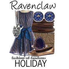 """Ravenclaw"" by fofandoms on Polyvore"