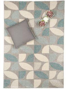 benuta tapis de salon moderne pastel mosaik pas cher bleu 140x200 cm label de qualit