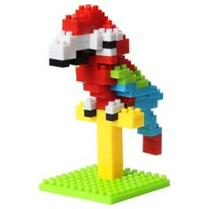 [$1.52] Enlightenment Assembled Puzzle Blocks Ambience (Specification: Parrot)
