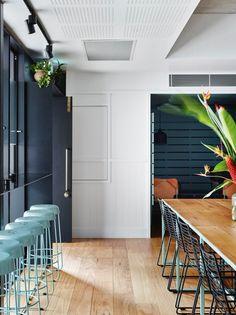 The bold interiors of new Brisbane cafe Gauge - Vogue Living