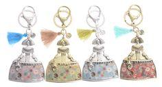 Llaveros de meninas de metal esmaltados de colores varios muy originales y únicos en www.sonatachic.com #etnico #pulseras #cool #ethinc #sonata #chic #bisuteria #snt #moda #fashion #tendencia #collares #gargantillas #anillos #outfits #complementos #cubrebotas #joyas #broches #tobilleras  #bolsas #expositores #llaveros #accesorios #pelo #gemelos #metal #colgante #cristal #meninas