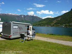 Camperplaats Olden Stryn - Naesset Camping - Noorwegen Wohnmobilvermietung www.janremo.de empfiehlt