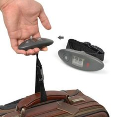 Portable Electronic Luggage Scale Travel LCD Hand Scale 88lb Weight Limit