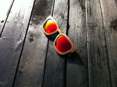 Hand made sunglasses