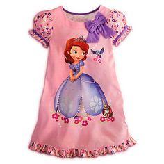 Disney Junior Princess Sofia The First Nightshirt Nightgown Pajama [ 10 ] L Large Disney http://www.amazon.com/dp/B00ASF5F0M/ref=cm_sw_r_pi_dp_ojUKtb01T20DQYA2