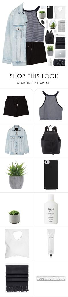 """PASSPORT"" by feels-like-snow-in-september ❤ liked on Polyvore featuring &nd B, Alexander Wang, Mansur Gavriel, Lux-Art Silks, Fujifilm, Fresh, Jennifer Haley, NARS Cosmetics, Rodin and Acne Studios"