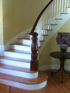 Antique Turned Newel Post On New Stairs | Newel Post   By Captbbrooks @  LumberJocks.