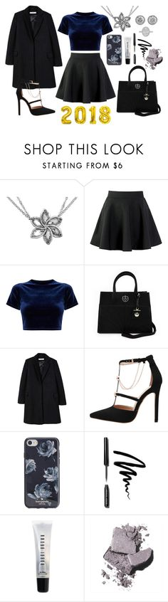 """""""2018"""" by aphrodite-lovelace on Polyvore featuring moda, Loungefly, MANGO, Kate Spade e Bobbi Brown Cosmetics"""