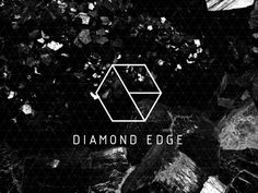 diamond edge logo from the collection 35 Minimally Minimal Logos Typography Logo, Logo Branding, Typography Design, Branding Design, Brand Identity, Corporate Identity, Gfx Design, Graphic Design, Logo Inspiration
