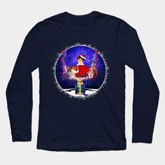 10th Doctor celebrate christmas  Long Sleeve T-Shirt #teepublic #tee #tshirt #longsleeve #clothing #unionjack #unitedkingdom #davidtennant #tenthdoctor #10thdoctor #publiccallbox #bluebox #timetravel #drwho #badwolf #timevortex #doctorwho #thedoctor #neonlights #fireworks #newyear #christmas #nerd #geek #funny #cool #tardis #nerdy #geeky #cover #timelord #nerds #fandom #who #british #gallifrey #gallifrean #flag #doctorwho