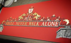 The Shankly Gates at Anfield Stadium, Liverpool. This unique piece of gold gilded art is available from: markmyink Liverpool Vs Manchester United, Liverpool Logo, Liverpool Football Club, Soccer Drawing, European Soccer, You'll Never Walk Alone, Ac Milan, Chelsea Fc, Tottenham Hotspur