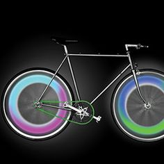 programmable LED bicycle lights!