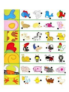 Hvilken del hører til hvilket dyr? Montessori Activities, Preschool Worksheets, Learning Activities, Preschool Activities, Teaching Kids, Kids Learning, Baby Play, Kids Education, In Kindergarten