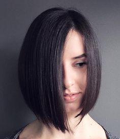 asymmetrical+angled+brunette+bob