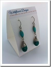 How to make earring display cards