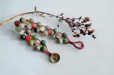 Inspired by Spring bracelet by IndyWeender on Etsy
