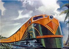 City of Miami. While the City of Miami may have officially been a train owned by the Illinois Central it took fourrailroads to reach its destination including (along with the IC) the Central of Georgia, Atlantic Coast Line, and Florida East Coast (later the Seaboard Air Line). The Miami was one of the first streamliners to serve the Florida-to-Midwest market as it was one of the few to be inaugurated prior to the World War II conflict.