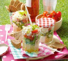 Quinoa salade met boontjes en feta - Recept - Jumbo Supermarkten