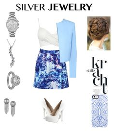 """Siliver"" by jacobsongreta ❤ liked on Polyvore"