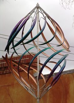 Have To It Cosmix Copper Double Wind Sculpture 30 56