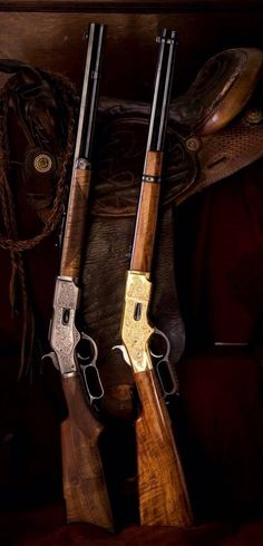lever action a real Rifle Man Henry Rifles, Cowboy Action Shooting, Lever Action Rifles, Fire Powers, Hunting Rifles, Cool Guns, Le Far West, Guns And Ammo, Old West