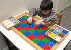 My Favorite Lower Elementary Montessori Material: The Montessori Checkerboard