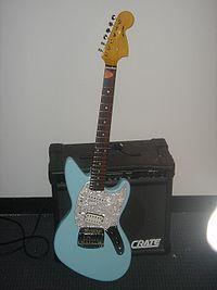 Fender Sky Blue Mustang