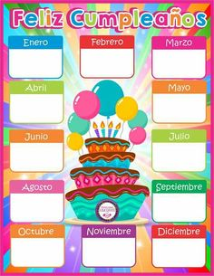 Calendario de cumpleaños the red color blindness - Red Things Kindergarten Classroom Decor, Classroom Bulletin Boards, Spanish Classroom, School Classroom, Classroom Birthday, Birthday Board, Class Decoration, School Decorations, Class Birthdays