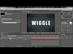 After Effects: Create a wiggle effect - YouTube