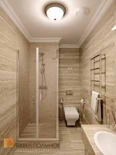Фото душевая комната из проекта «Дизайн интерьера четырехкомнатной квартиры в классическом стиле, 204 кв.м.»
