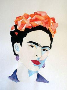 Ideas For Wallpaper Frida Kahlo Pinturas Kobra Street Art, Kahlo Paintings, Frida Art, Iphone Wallpaper Glitter, Beautiful Fairies, Arte Pop, Dot Painting, Portrait Art, Fractal Art