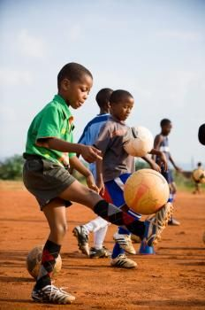 These boys from our Mamelodi, South Africa Village are pretty good at soccer! (Or football, for our international friends!)