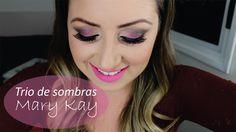 Trio de Sombras Mary Kay Resenha feita pela blogueira Diessica Chagas