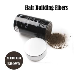 Easy to Use Lose Hair Building Fibers Medium Brown Color 22g >>> This is an Amazon Affiliate link. Click image to review more details.