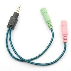 新品スマホやタブレットの4極音声端子CTIA規格に汎用的なイヤホンマイクを接続できる便利なケーブル  EasySMX オーディオ変換アダプタケーブル(CTIA規格) 3.5mm 4極(オス)-3.5mmステレオ(メス)マイク(メス)  詳しくはこちら: http://ift.tt/1W2VlLU