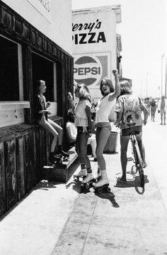 Amazing Black and White Photos Capture SoCal's Skate, Beach and Punk Scenes From Between the Late and Early ~ vintage everyday