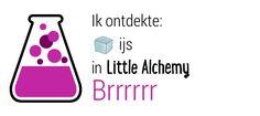 Ik ontdekte ijs in Little Alchemy! http://littlealchemy.com